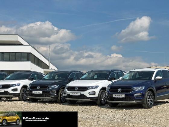 VW TRoc Forum T Roc in freier Wildbahn